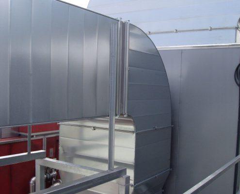 Instalación conducto ventilación